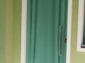 porta de abrir verde
