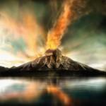 Vulcão e o Vidro