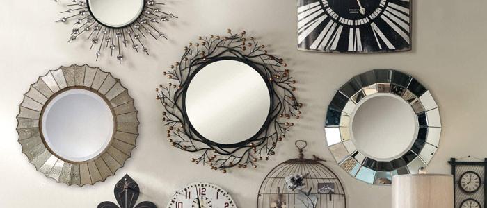 Dicas de decora o com espelhos vidra aria rocha rj for Espejos circulares decorativos