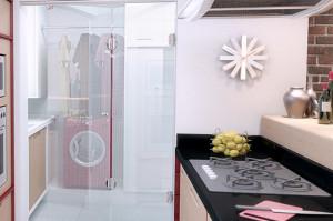 porta de vidro articulada no rj